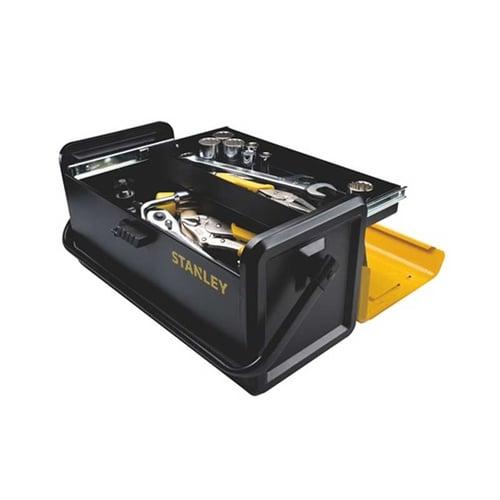 "Stanley 19"" Metal Tool Box- 1 Drawer STST73100-8"