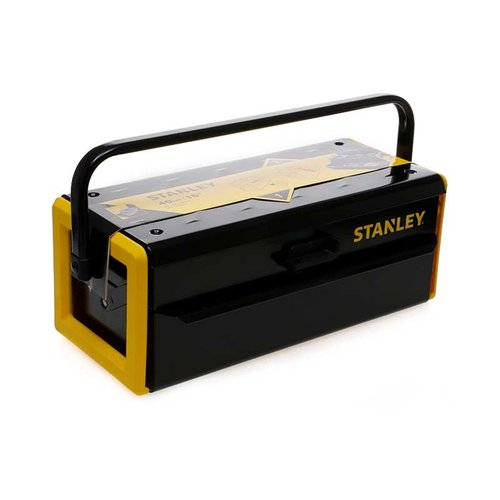 """Stanley 16"""" Metal tool Box - cantilever 2 layers STST73097-8"""