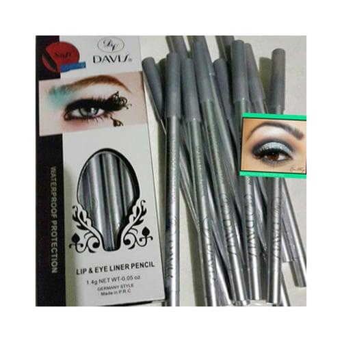 DAVIS [ Ecer ] Eyeliner Silver