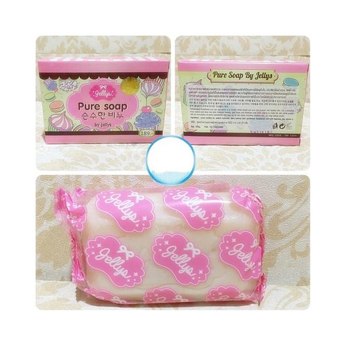 Jellys Soap Pure By Jelly Original 100g