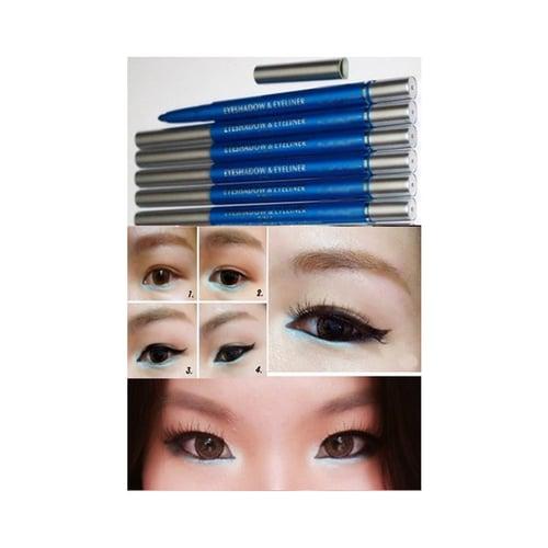 MAC Eyeshadow Blue / Eyeliner Biru [ Ecer ]