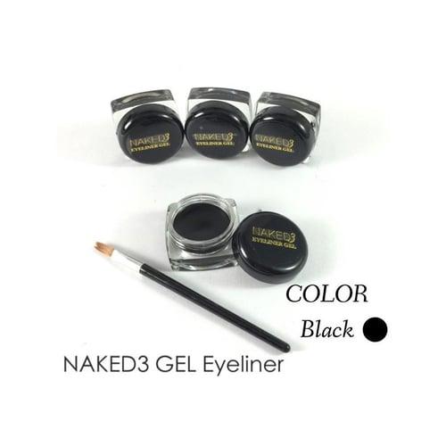 NAKED [ Ecer ] Eyeliner Gel  3 Black