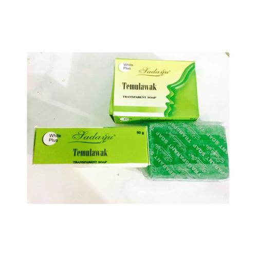 Temulawak Sabun Green Tea / Sabun Hijau BPOM 90gr