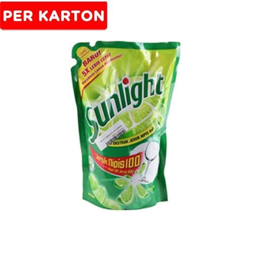 SUNLIGHT Lime Pouch 800 ml x 12 pcs