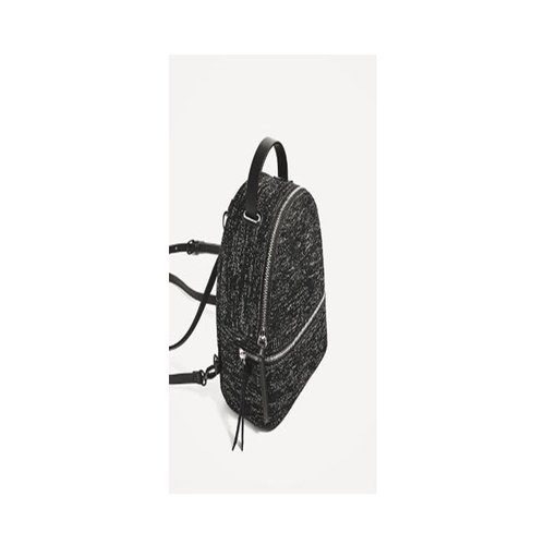 ZARA Convertible Backpack Black