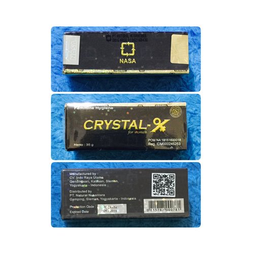 CRYSTAL X Nasa Original 35gr