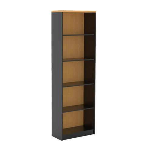 Prissilia Rak Buku Mortred Bookcase Standar Beech