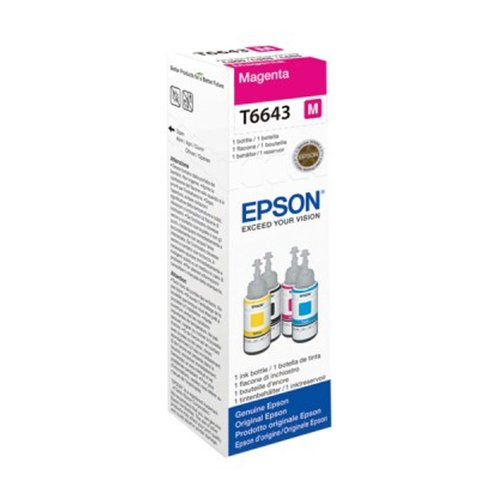 EPSON T Magenta Ink Bottle 70ml T6643