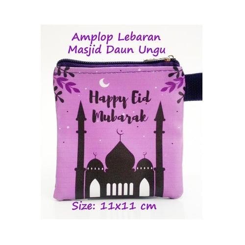 Amplop Lebaran Masjid Daun Ungu 28