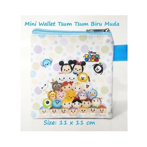 Mini Wallet Tsum Biru Muda