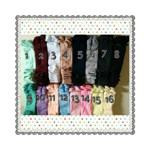 Grosir Kaos Kaki Jempol Polos Size S Mix 12pcs Kemasan