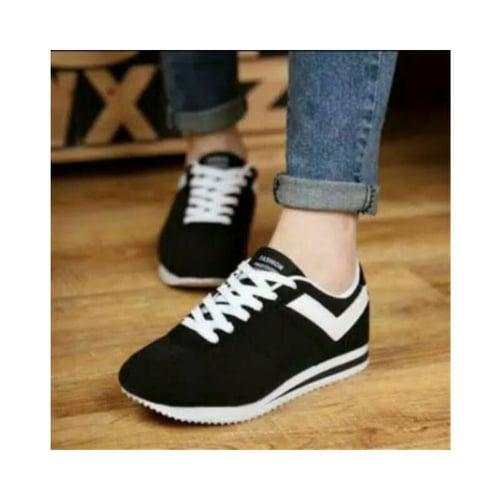 Sepatu Spon Pcr 30 Hitam