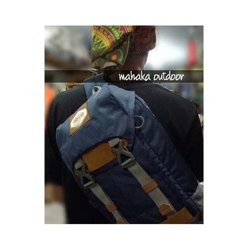 FORESTER Sling Bag Dua Fungsi Tas Selempang Back Pack