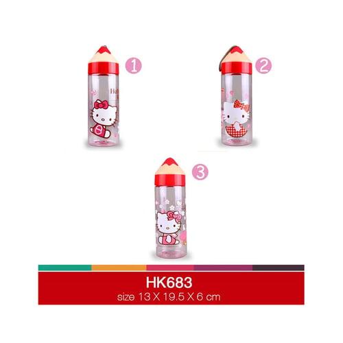 Botol minum 500ml pensil Hello Kitty HK683-1