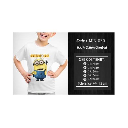 Kaos Anak Minion / Kaos Anak Despicable Me  KMIN-030
