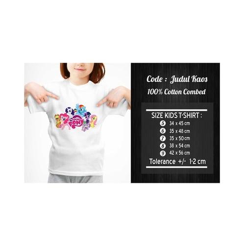 Kaos Anak My Little Pony / Kaos MLP KMLP-001