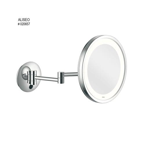 ALISEO Magniflying Mirror Caty Light Double Arm No 020657