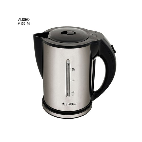 ALISEO Hot Water Kettle Fusion Brushed Chrome No 170124