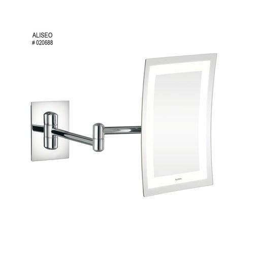 ALISEO LED Lunatec Minimalist Magnifying Mirror Art 020688