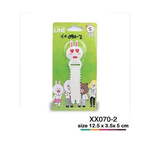 Kabel ties line Putih love XX070-2