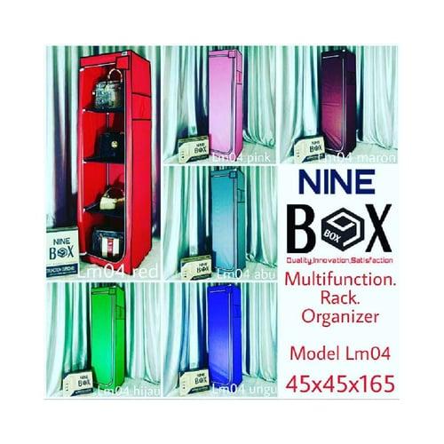 NINEBOX Lemari / Rak / Furniture / Dekorasi Kamar Tidur Type LM04