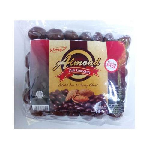 L AGIE Eiffel Almond Milk Chocolate 225gr