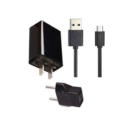 XIAOMI Charger Kabel Original 5V 2A Micro USB Hitam