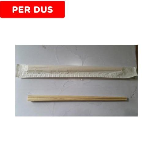 Sumpit Kayu Genroku Kualitas Import (Bungkus Kertas)