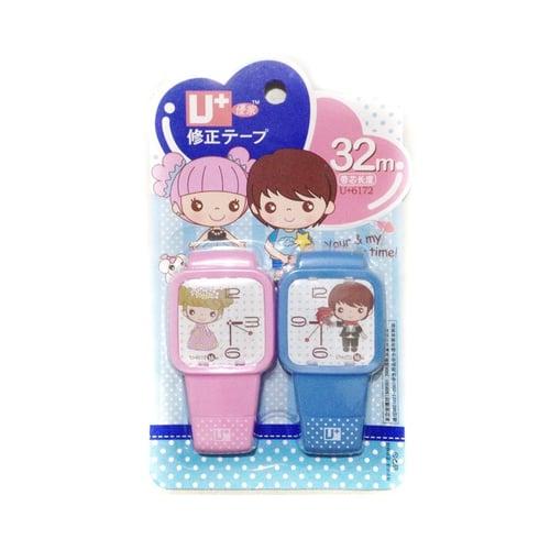 Correction Tape Fancy Jam Tangan Couple Watch 2in1 (32m)