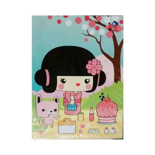 SIDU Buku Tulis EB 58 (1pak) Japanese Girl