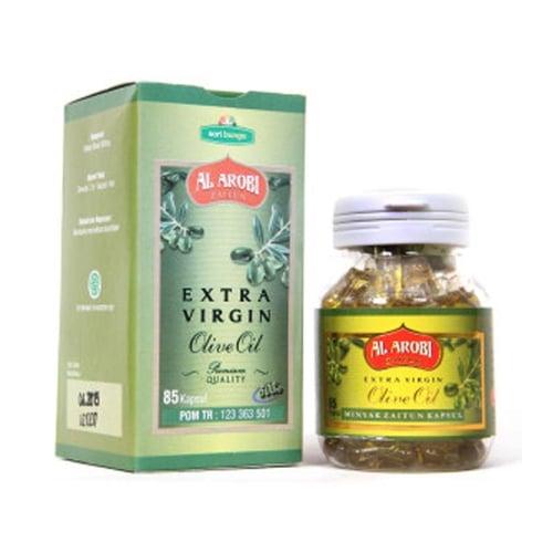 AL AROBI Kapsul Extra Virgin Olive Oil Minyak Zaitun