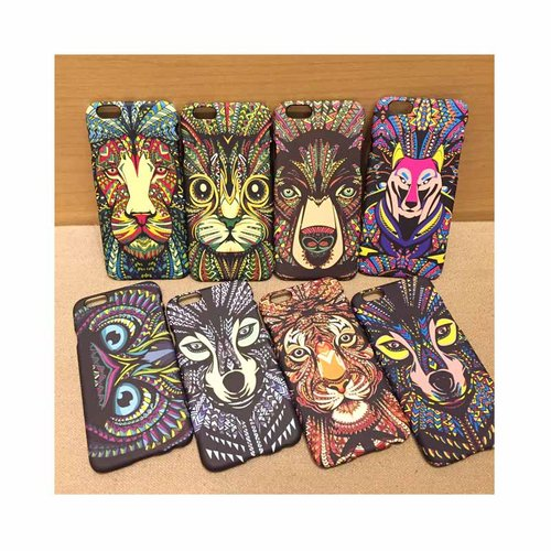 Animal Indian Case Case Casing Hp iPhone Samsung Grand