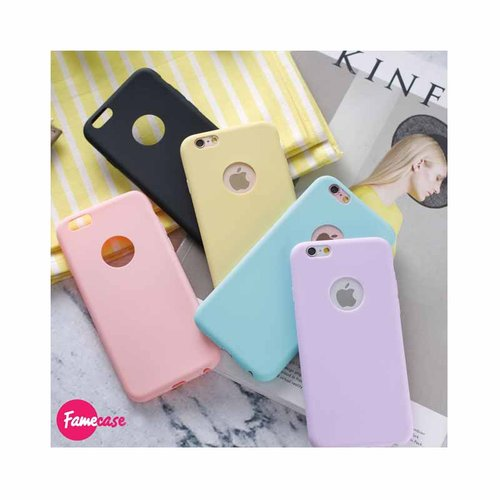 Candy Colorful Soft Case iPhone