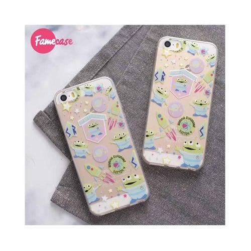 Little Green Man Soft Case iPhone