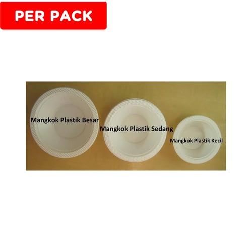 Mangkok Plastik Sedang BSM (50pcs)