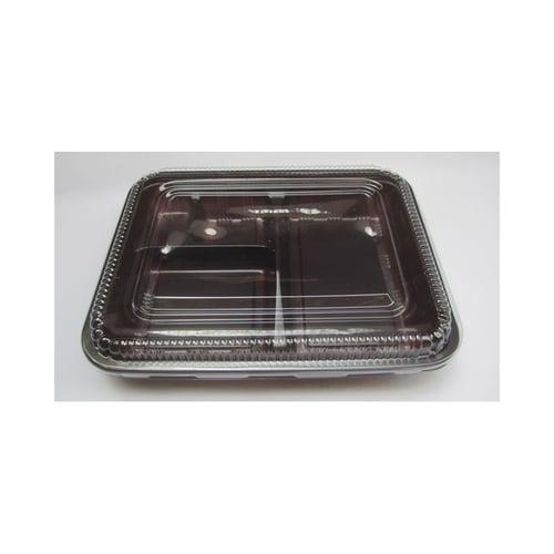 Tray Bento 4 Sekat / Mika / Box / Kotak Bento (Per Pieces)