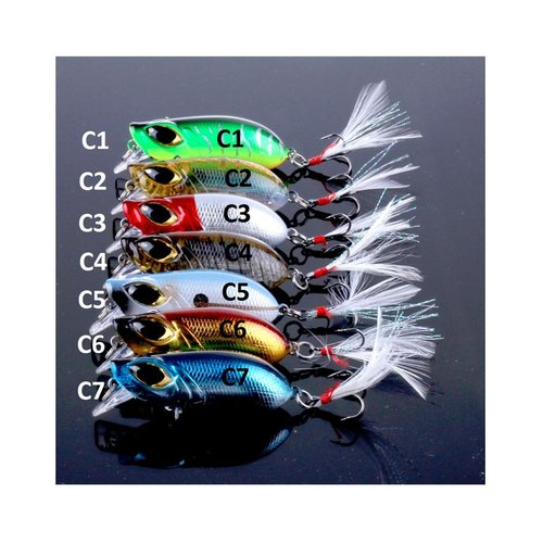 Small Crankbaits with Magnetic Roll Slow Sinking Lure Minnow 8g 5.5Cm