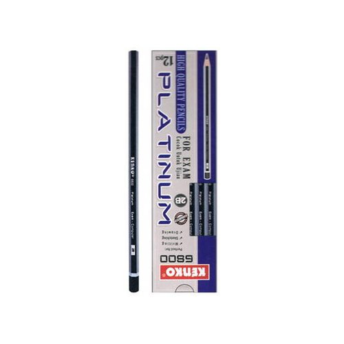 KENKO Pencil 2B 6800 Platinum Isi 12pcs
