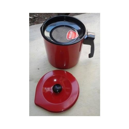 MASPION Kitchen Oilpot Maslon Wadah / Saringan Minyak Teflon