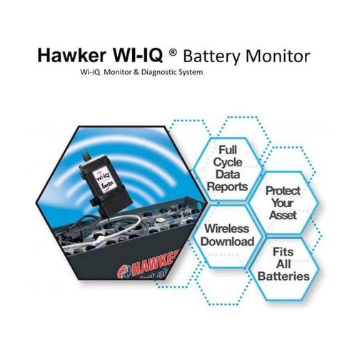 HAWKER WI-IQ  Battery Monitor