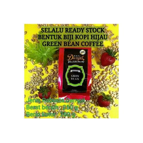Kopi Dampit Robusta Green Bean Kopi Hijau