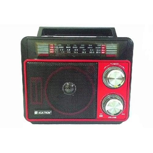 ASATRON Radio R-1051Usb Bisa Usb Dan Sd Card