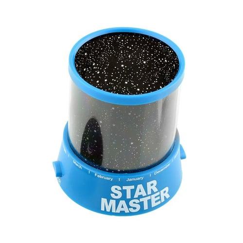 Star Master Lampu Tidur Proyektor Bulan Bintang