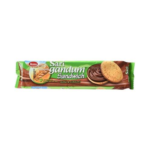 ROMA Sari Gandum Susu dan Coklat 115gr