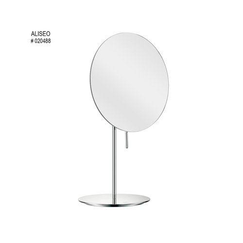 Aliseo  Magnifiying Mirror Free Standing 3x Magnification Art No : 020488