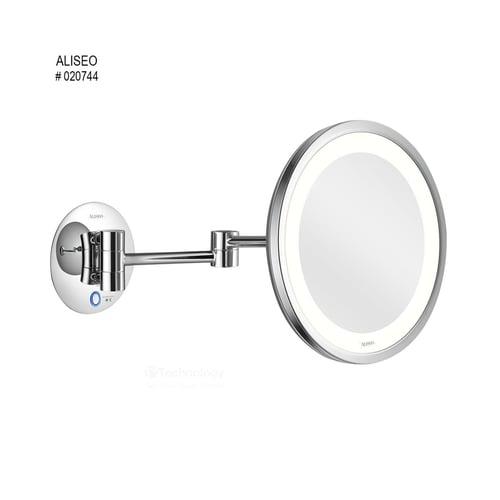 ALISEO Mirror LED Saturn Twin Arm Mirror Art No 020744