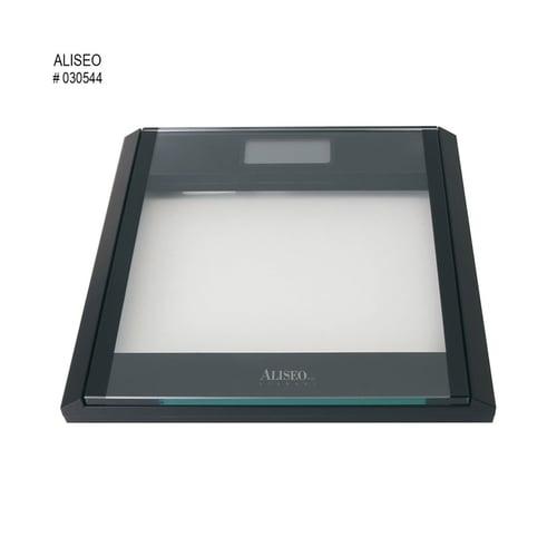 ALISEO Timbangan Glass Bathroom Electronic No. 030544 Black