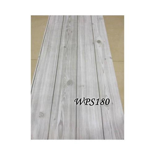 Wallpaper Sticker 45cmx5m WPS180 Grey Wood List