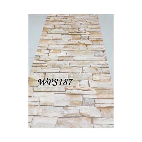 Wallpaper Sticker 45cmx5m WPS187 Cream Nature Stone