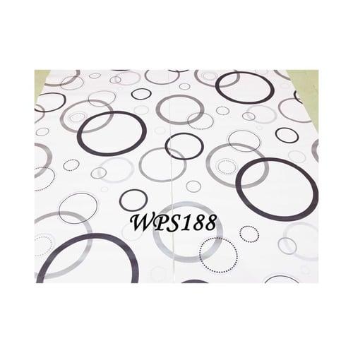 Wallpaper Sticker 45cmx5m WPS188 Pink N Ring Bubble
